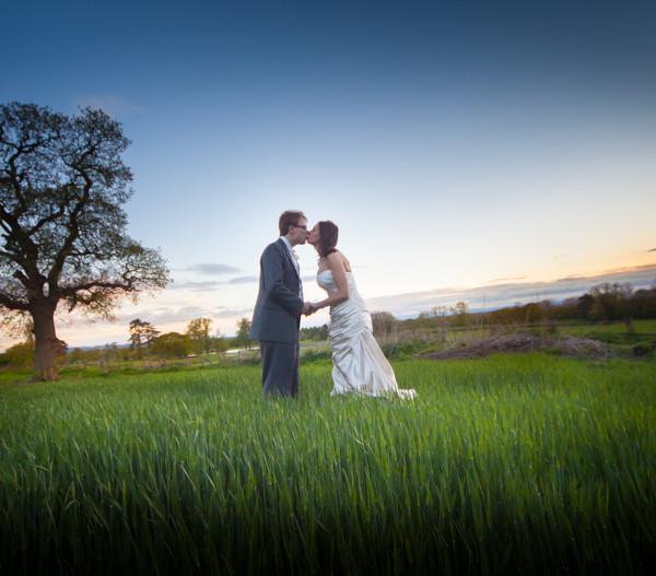 The Wedding of Anna & Dennis at Willington Hall