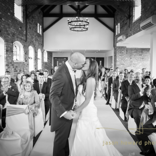 The wedding of Lisa & Kyle at Doubletree by Hilton Chester
